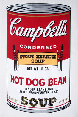 Andy Warhol, Campbells Soup II: Hot Dog Bean (FS II.59)