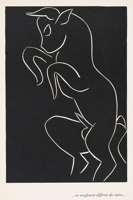 Henri Matisse, . . . UN MEUGLEMENT DIFFÉRENT DES AUTRES . . .  (. . . a roar different from all others . . .)