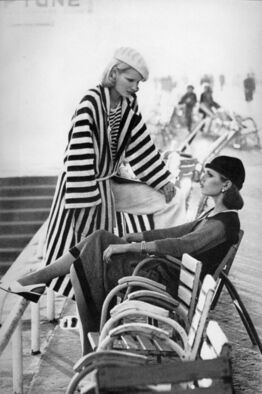 Helmut Newton, Patti Hansen and Gunilla Lindblad from A Few of our Favorite Things...