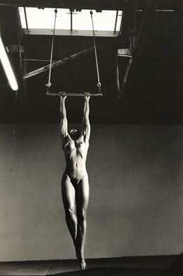 Helmut Newton, Lisa Lyon in her Studio, Venice, California