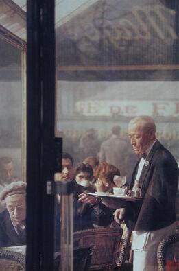 Saul Leiter, Waiter, Paris