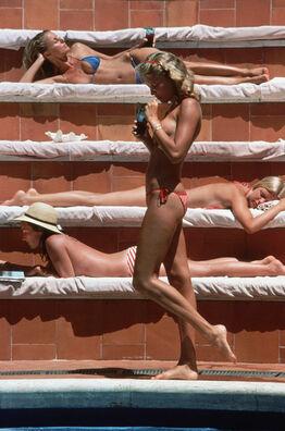 Slim Aarons, Catherine Wilke, Capri, Italy