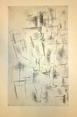 Georges Braque, Composition (Nature Morte aux Verres V.11)