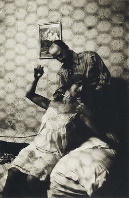 Diane Arbus, Wax Museum Strangler, Coney Island, N.Y.