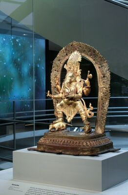 Nepalese Seasons: Rain and Ritual, installation view