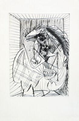 Pablo Picasso, La Femme qui pleure. IV