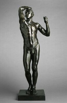 Auguste Rodin, The Age of Bronze, First Reduction