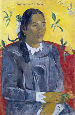 Paul Gauguin, Vahine no te tiare (Woman with a Flower)