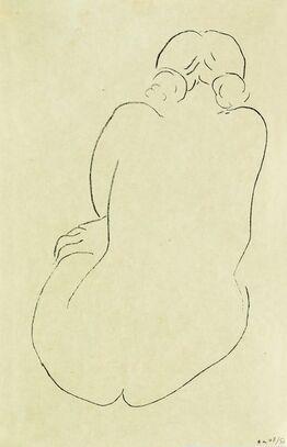 Henri Matisse, Nu assis, vu de dos
