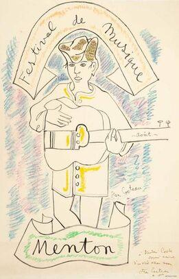 Jean Cocteau, Menton - Festival de Musique