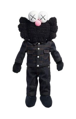 KAWS, BFF Dior Plush Black
