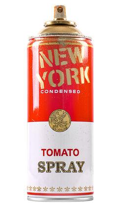 Mr. Brainwash, NEW YORK SPRAY CAN (Gold)