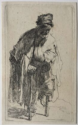 Rembrandt van Rijn, Beggar with a Wooden Leg