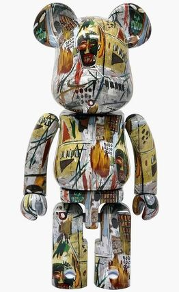 Jean-Michel Basquiat, Basquiat Bearbrick 200% Companion (Basquiat BE@RBRICK)