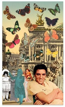 Peter Blake, Elvis in Paris
