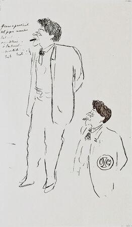 Jean Cocteau, Portrait d'Hermann Dietz