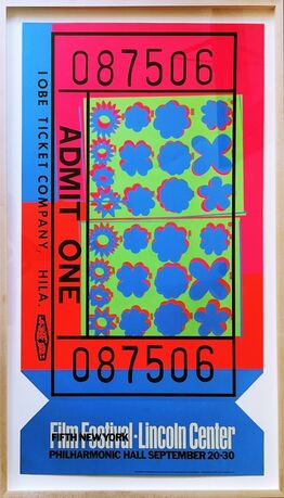 Andy Warhol, Lincoln Center Ticket (Feldman & Schellmann, II.19)