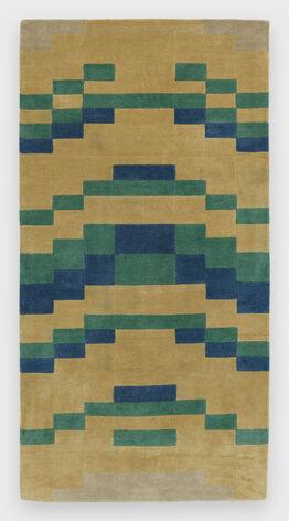 Anni Albers, Temple Rug in Emanu-El Colorway