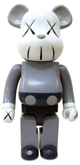 BE@RBRICK, Kaws 1000% Companion Grey