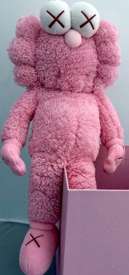 KAWS, KAWS Pink BFF Plush (KAWS BFF pink)