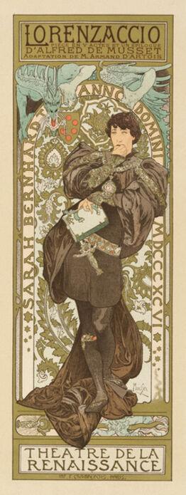 Alphonse Mucha, Lorenzaccio