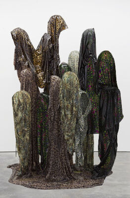 Kevin Beasley, installation view