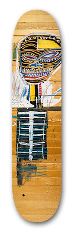 Jean-Michel Basquiat, 'Gold Griot', ca. 2014, Print, Screenprint on wood, EHC Fine Art