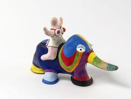 Niki de Saint Phalle, 'Nana on an Elephant', 1979