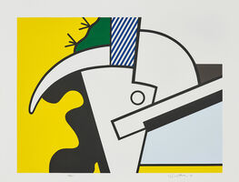Roy Lichtenstein, 'Bull Head II, from Bull Head Series', 1973