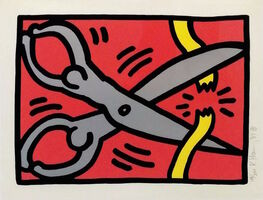 Keith Haring, 'POP SHOP III (2)', 1989