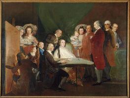 Francisco de Goya, 'The Family of the Infante Don Luis de Borbón', 1783-1784