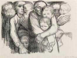 Käthe Kollwitz, 'Mütter', 1919