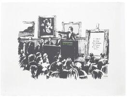 Banksy, 'Morons (Signed)', 2007