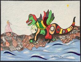Niki de Saint Phalle, 'Strength - Card No.11', 1998