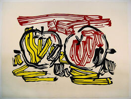 Roy Lichtenstein, 'Red and yellow Apple', 1983