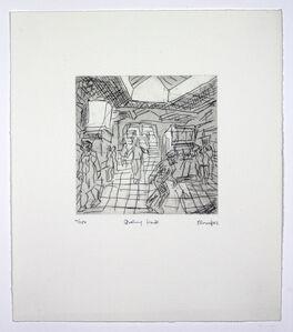 Leon Kossoff, 'The Booking Hall', 1982