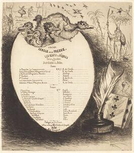 Vicomte Ludovic Napoléon Lepic, 'Les Oeufs de Pâques', 1878