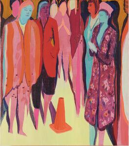 Jules de Balincourt, 'Cone Control', 2018