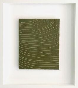 Diana Greenberg, 'Kimono with Heron, Olive', 2020