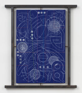 Andrew Lyght, 'Industrial Painting/ Sheathing 0143 Blue', 2000-2001