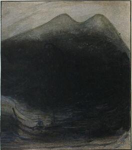 Alfred Kubin, 'Seeungheuer (Lake Monster)', ca. 1900