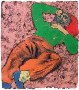 R. B. Kitaj, 'Fed Up, Again', 1981