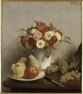 Henri Fantin-Latour, 'Fleurs et fruits', 1865