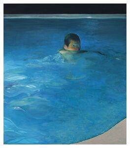 Jonathan Wateridge, 'Night Swim', 2019
