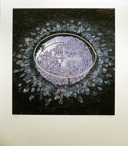 Nils Udo, 'Composition bleue'