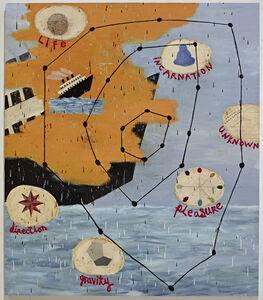 Squeak Carnwath, 'Star Chart', 2012