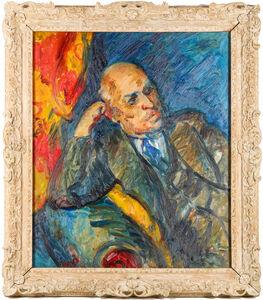 Matthew Smith, 'Portrait of Dudley Wallis', Painted circa 1936.