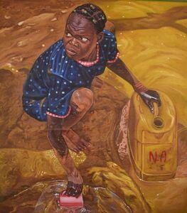 Kwesi Botchway, 'the golden gallon', 2018