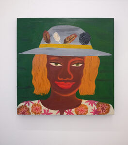 Sophie d'Ansembourg, 'Untitled (green eyes)'
