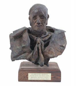 Floriano Bodini, 'Testa di prelato', 1962